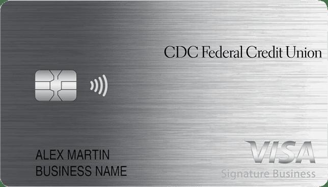 Sample of Smart Business Rewards Visa Signature credit card