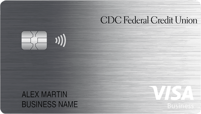Sample of Visa Business Cash credit card
