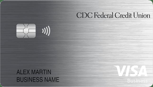 Sample of Visa Business credit card